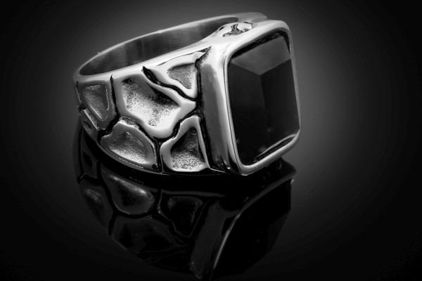 steel ring jewelry