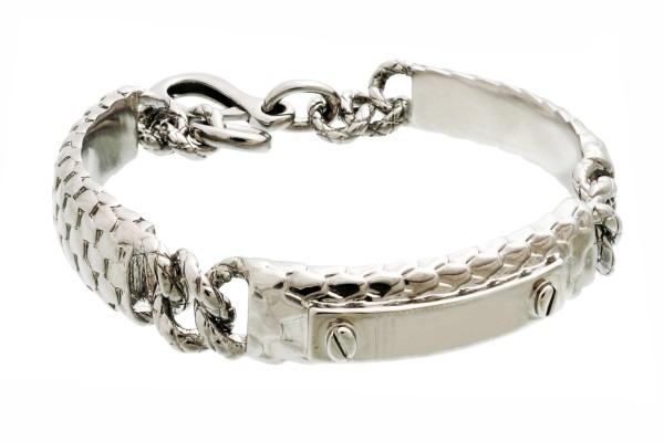 men's silver bracelet