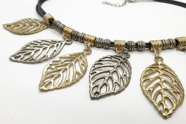 aluminum steel necklace